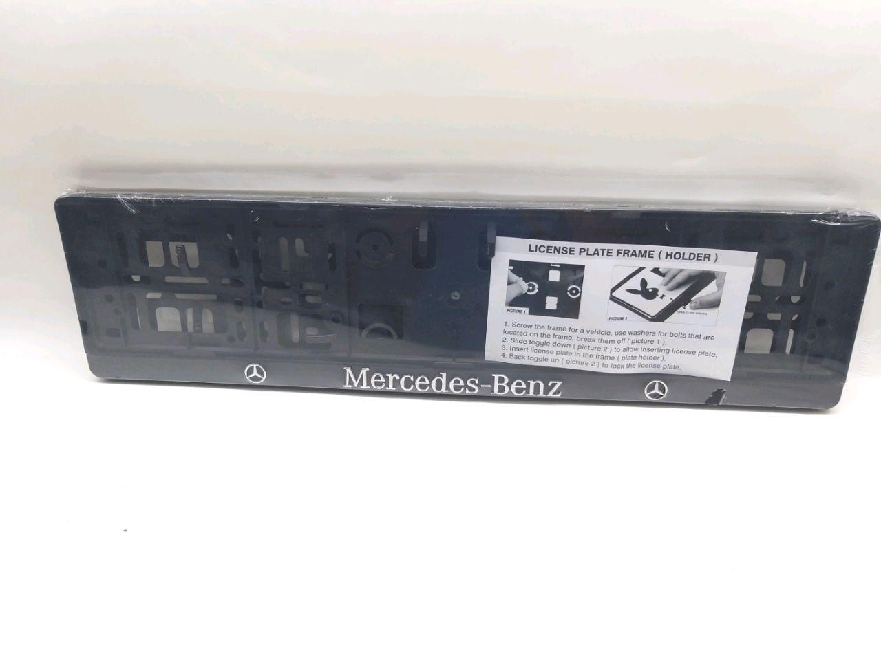 Suport număr inmat Mercedes-Benz (2buc)