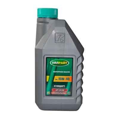 Ulei de motor Standart 15w40 Oil Right 1L.