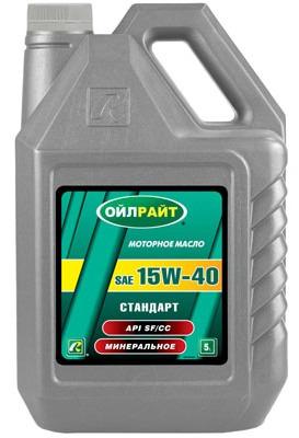 Ulei de motor Standart 15w40 Oil Right 5L.