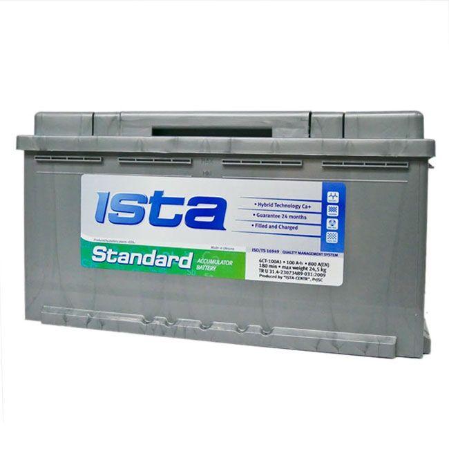 Baterie auto ISTA (Standard) 100Аh