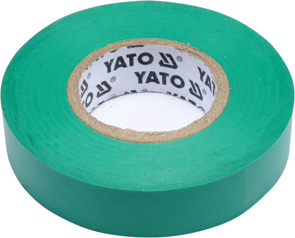 Bandă izolantă 15mm 20m verde