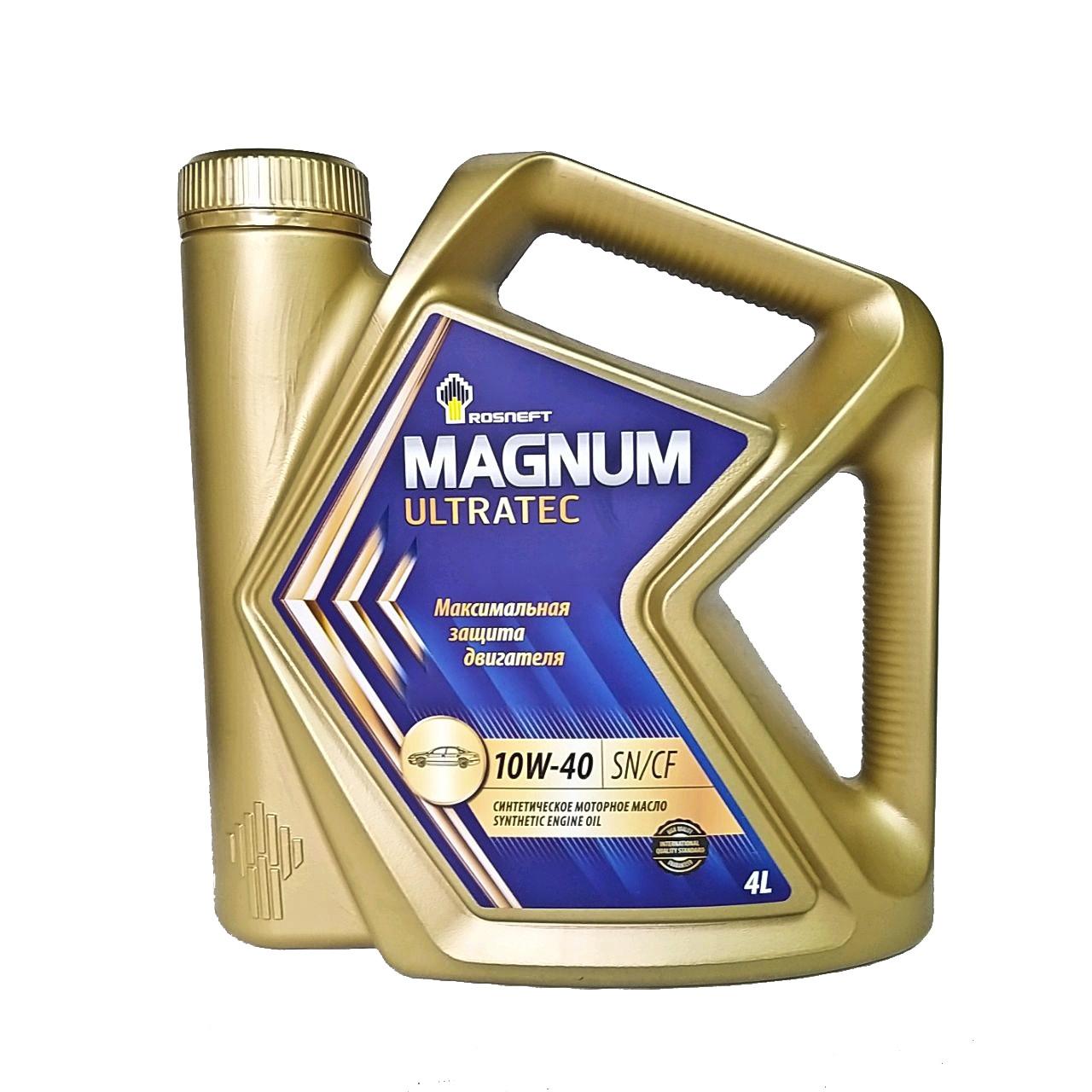 Rosneft Magnum Ultratec 10w-40 (SN/CF) 4L.