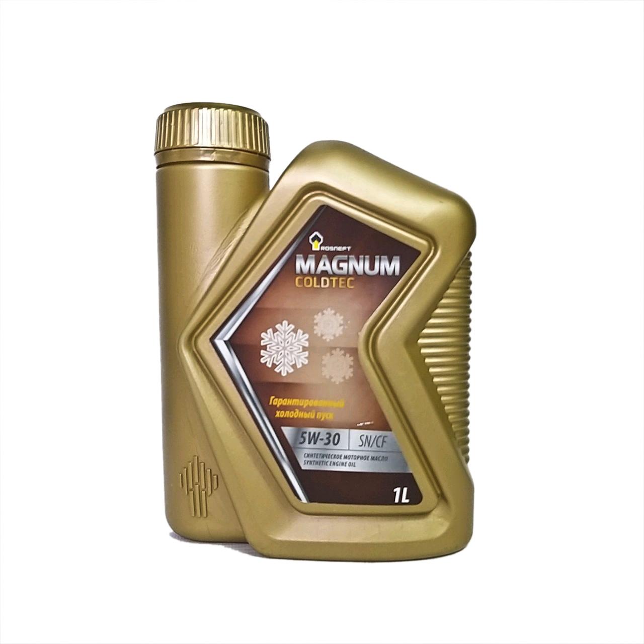 Rosneft Magnum Coldtec 5W-30  (SN/CF) 1L.