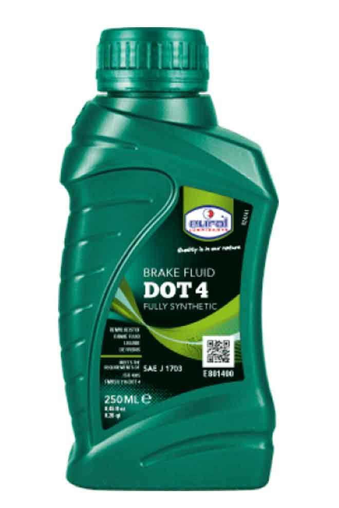 Eurol Brakefluid DOT 4 250ml