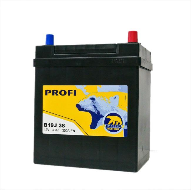 Baterie auto BAREN (Profi) 38Аh E