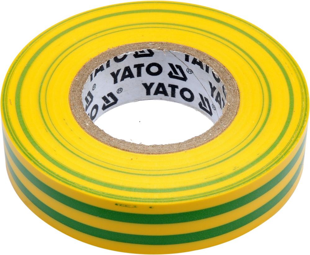 Bandă izolantă 15mm 20m galben-verde