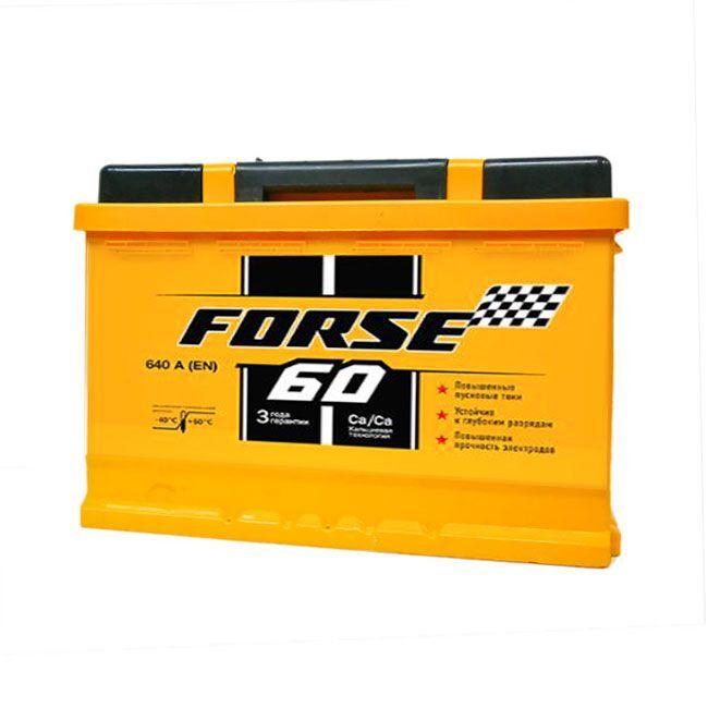 Baterie auto FORSE 60Ah E