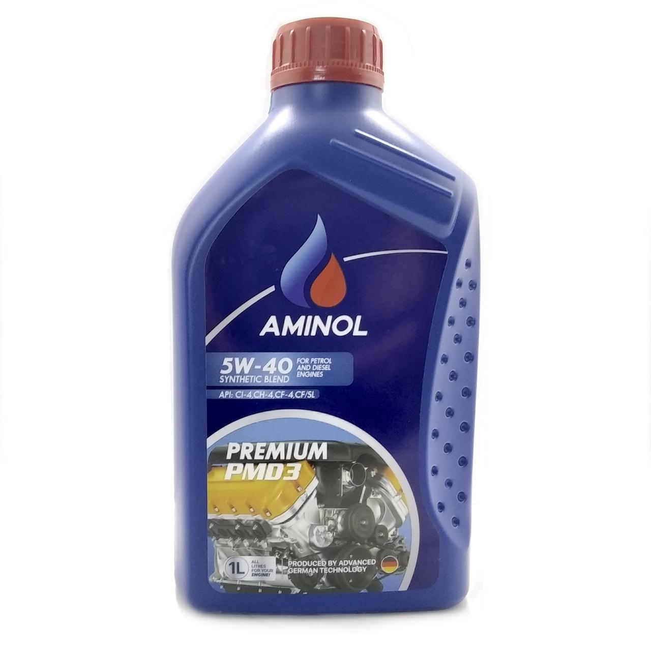 (250852)Aminol SUPER SPG3 5w-40 (SN/CF) 1L.