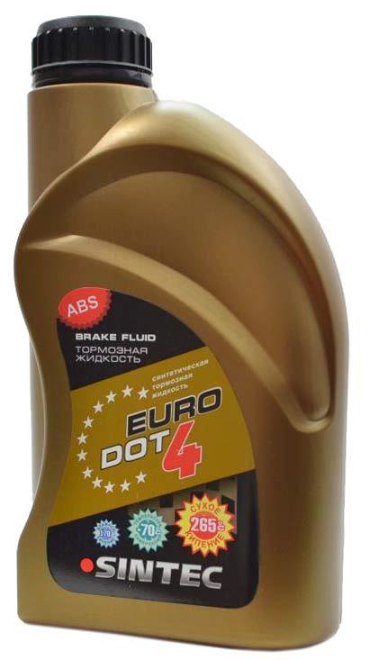 Sintec lichid de frina EURO DOT-4 455g.