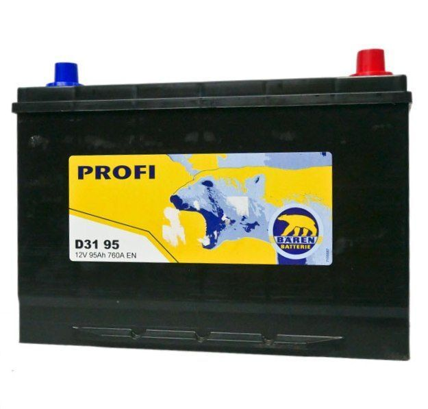 Baterie auto BAREN (Profi) 95Аh
