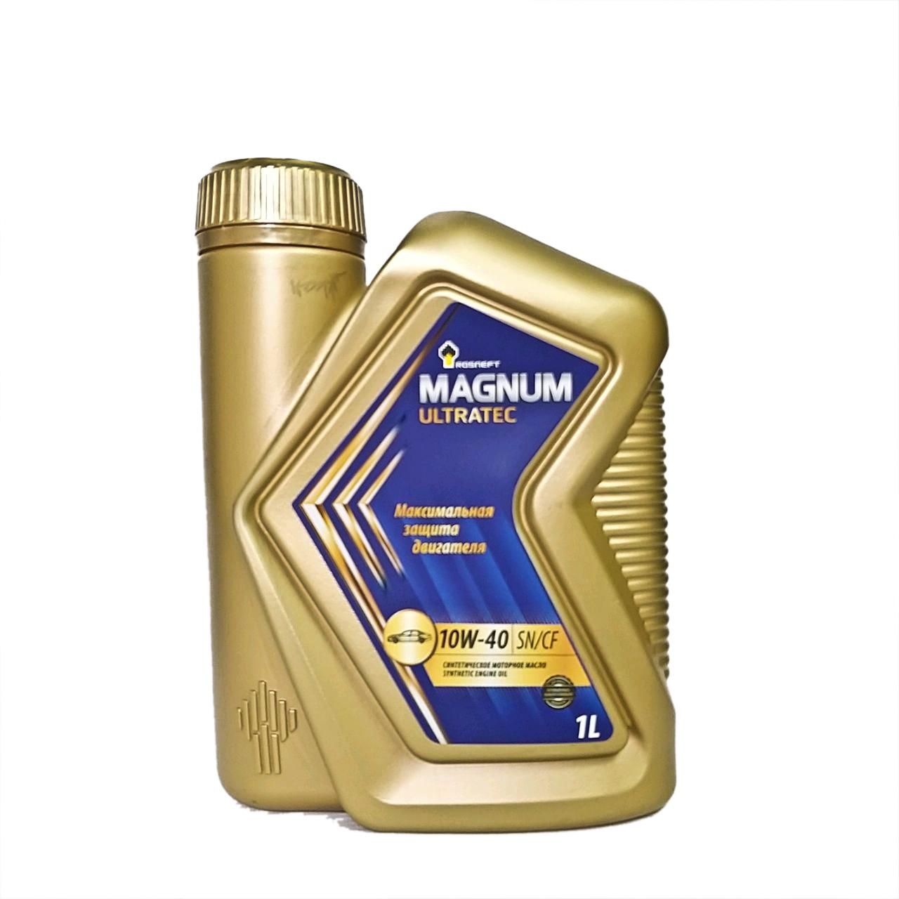 Rosneft Magnum Ultratec 10w-40 (SN/CF) 1L.