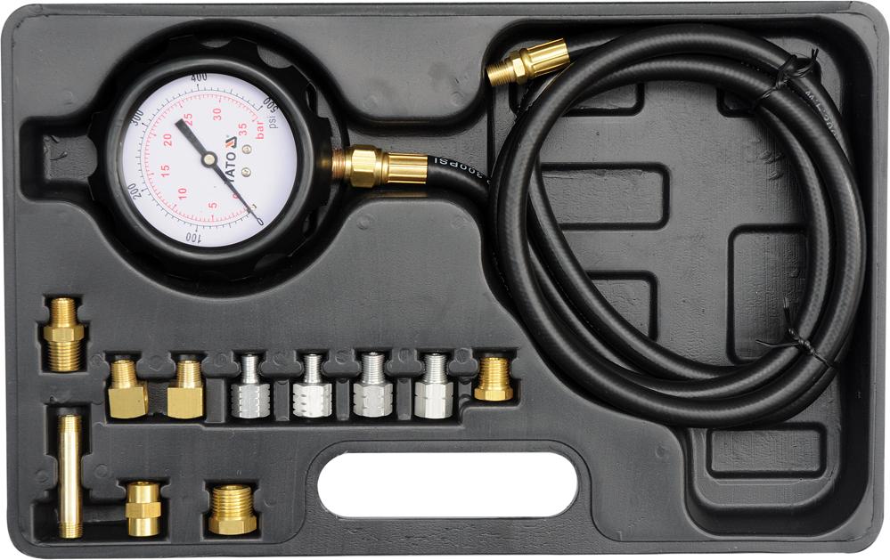 Set p/u verificarea presiunii uleiului 0-500psi/0-35bar
