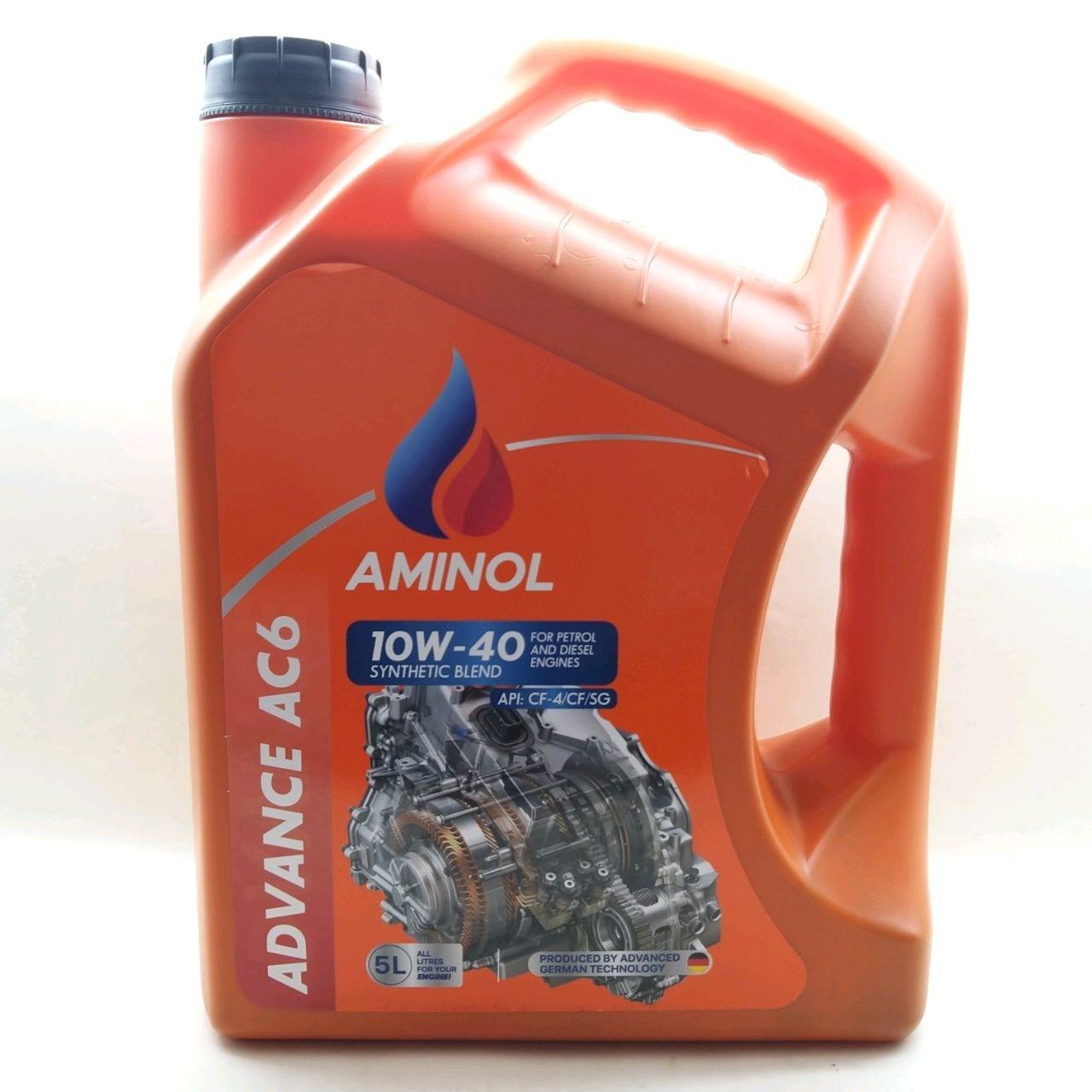 Aminol ADVANCE AC6 10w-40 (CF-4) 5L.