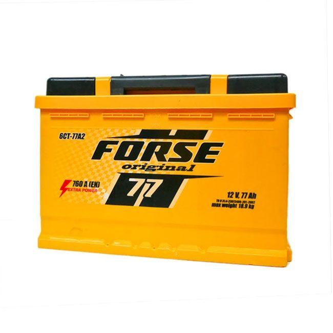 Baterie auto FORSE 77Ah E